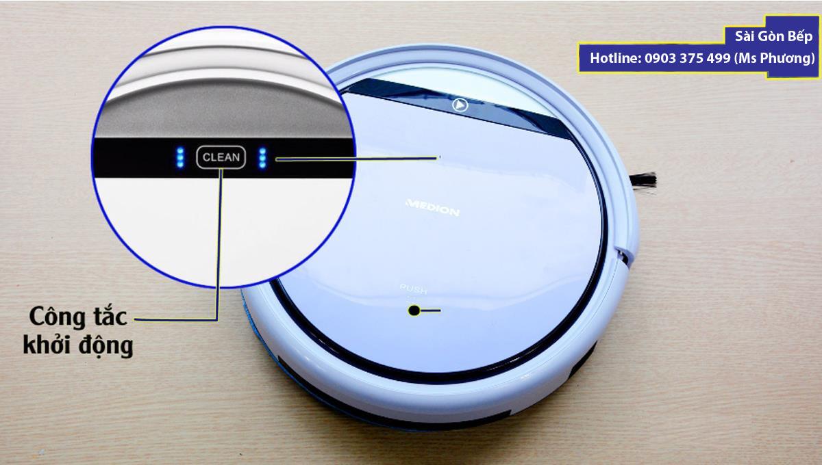Robot hút bụi Medion MD 18501 người bạn chung cư của bạn