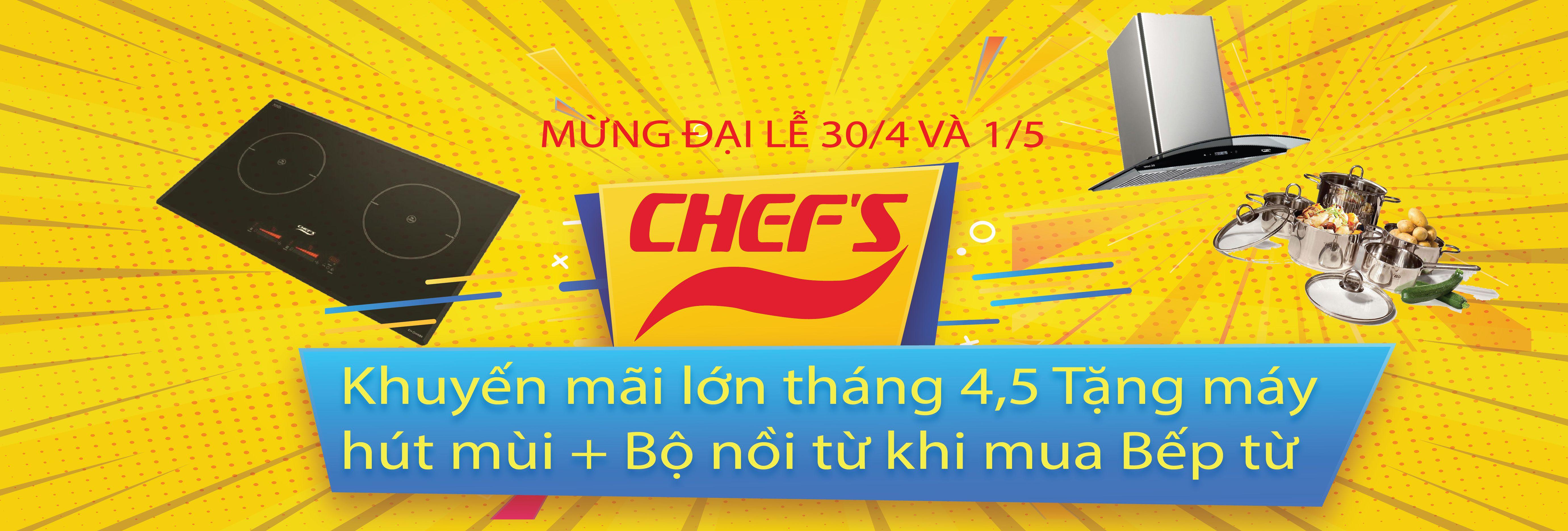 Bếp từ Chefs