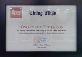 Đại lý chính thức của Teka tại Việt Nam