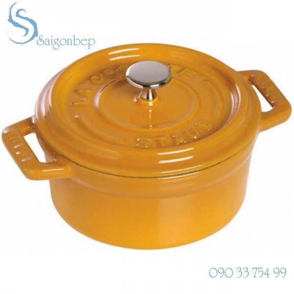Nồi gang Staub Mini Mustard Round 10 - 1101012