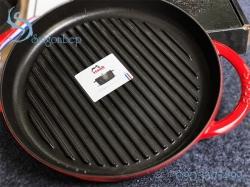 Chảo gang Staub Pure Grill Grey 26 - 1203018
