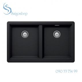 Chậu đá màu đen Hafele HS20-GEN2S80 570.30.310