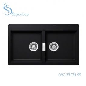 Chậu đá màu đen Hafele HS20-GKN2S90 570.33.190