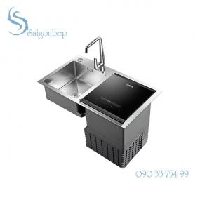 Chậu rửa kết hợp máy rửa chén Hafele HDW-SD90A 539.20.530