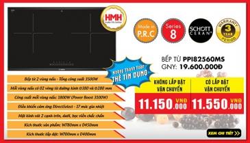 Khuyến mãi Bếp từ BOSCH PPI82560MS