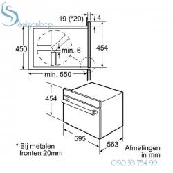 Lò nướng Bosch Hbc84e663