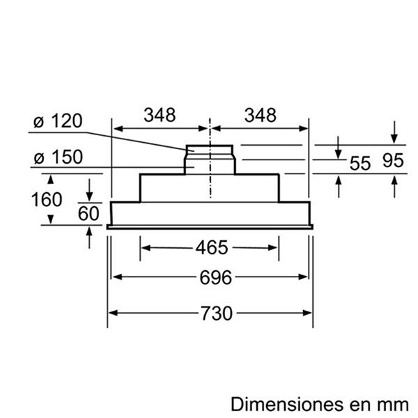 Máy hút mùi Bosch DHL755B