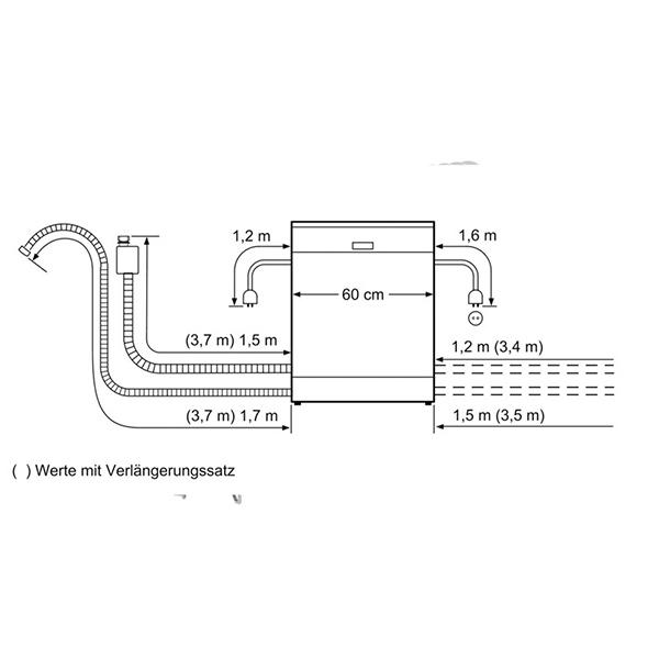 Máy rửa chén Bosch SMS46GI01P