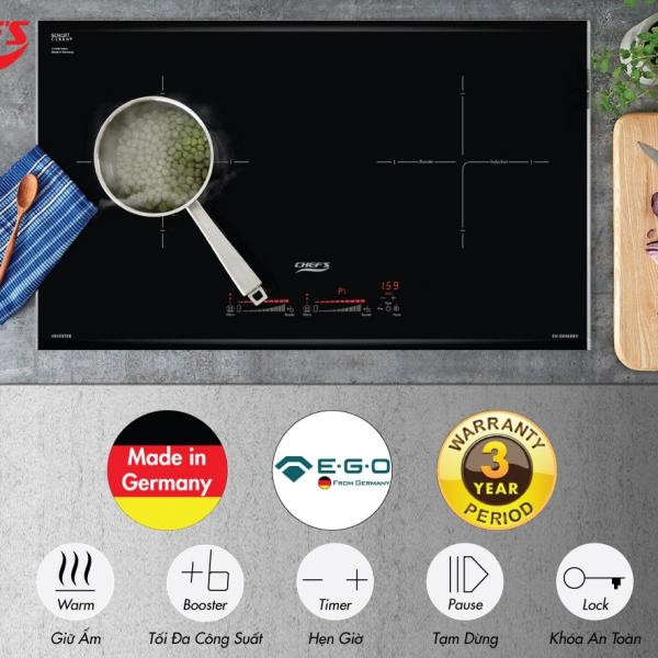 Phân tích bếp từ Chefs EH-DIH888v