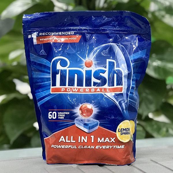 Viên rửa Finish All in 1 Max 60 viên